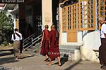 Daily routine in the Mahasi Sasana Yeiktha centre