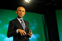 Milano, Aeroporto di Malpensa, presentazione del nuovo brand e nuova livrea degli aerei Alitalia. Silvano Cassano, Amministratore Delegato di Alitalia.5 Giugno 2015.<br /> Milan, Malpensa Airport, Alitalia introduces its new brand, new livery and new products of the company. Silvano Cassano, Alitalia Chief Executive Officer. June 5, 2015.