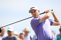 Russell Knox (SCO) on the 3rd tee during the 1st round of the 2017 Portugal Masters, Dom Pedro Victoria Golf Course, Vilamoura, Portugal. 21/09/2017<br /> Picture: Fran Caffrey / Golffile<br /> <br /> All photo usage must carry mandatory copyright credit (&copy; Golffile | Fran Caffrey)
