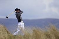 Reece Black (Hilton Templepatrick Golf Club) during the first round of matchplay at the 2018 West of Ireland, in Co Sligo Golf Club, Rosses Point, Sligo, Co Sligo, Ireland. 01/04/2018.<br /> Picture: Golffile | Fran Caffrey<br /> <br /> <br /> All photo usage must carry mandatory copyright credit (&copy; Golffile | Fran Caffrey)