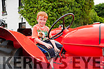 Athea Vintage Rally: Eoghan Cummane, Ballyhahilll  taking part in the Athea vintage rally in aid of the Butterfly Club for special needs children on Sunday last.