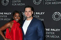 """LOS ANGELES - NOV 19:  Aja Naomi King, Matt McGorry at the  """"How To Get Away With Murder"""" Final Season Celebration at Paley Center for Media on November 19, 2019 in Beverly Hills, CA"""