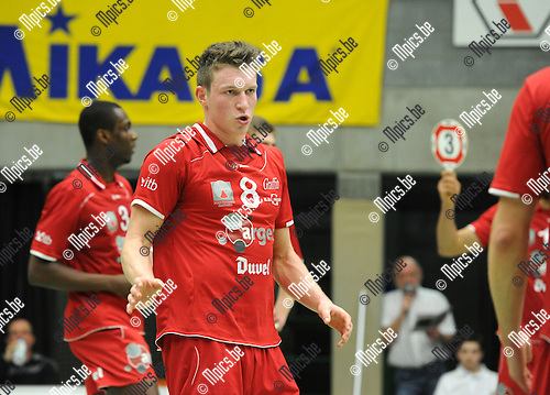 2012-03-03 / Volleybal / seizoen 2011-2012 / Puurs / Baetens Seppe..Foto: Mpics.be