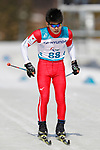 Keigo Iwamoto (JPN),<br /> MARCH 14, 2018 - Cross-Country Skiing : <br /> Men's Sprint 1.5 km Standing Qualification<br /> at Alpensia Biathlon Centre   <br /> during the PyeongChang 2018 Paralympics Winter Games in Pyeongchang, South Korea. <br /> (Photo by Yusuke Nakanishi/AFLO SPORT)