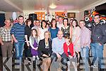 40th Birthday : Diarmuid Keane , Lixnaw celebrating his 40th birthday with family & friends at Griffin's Railway Bar, Lixnaw on Saturday night last.