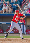 7 March 2016: Washington Nationals infielder Matt Skole in action during a Spring Training pre-season game against the Miami Marlins at Space Coast Stadium in Viera, Florida. The Nationals defeated the Marlins 7-4 in Grapefruit League play. Mandatory Credit: Ed Wolfstein Photo *** RAW (NEF) Image File Available ***