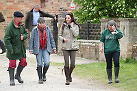 THE DUCHESS OF CAMBRIDGE VISIT FARMS FOR CITY CHILDREN<br />