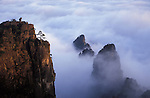 Asia, China, Huanshan. The Yellow Mountain