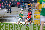 Kerry in action against  UCC in the Munster quarter final of the McGrath cup at Fitzgerald Stadium in Killarney on Sunday.