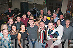 THREE 0 THIRTY: Keith Greensmyth, Oakview, Tralee (front centre) had a great night celebrating his 30th birthday last Saturday in Kirby's Brogue, Tralee along with many friends and family.