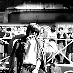 Walker Brothers 1965 Scott Walker  on Ready Steady Go.© Chris Walter.