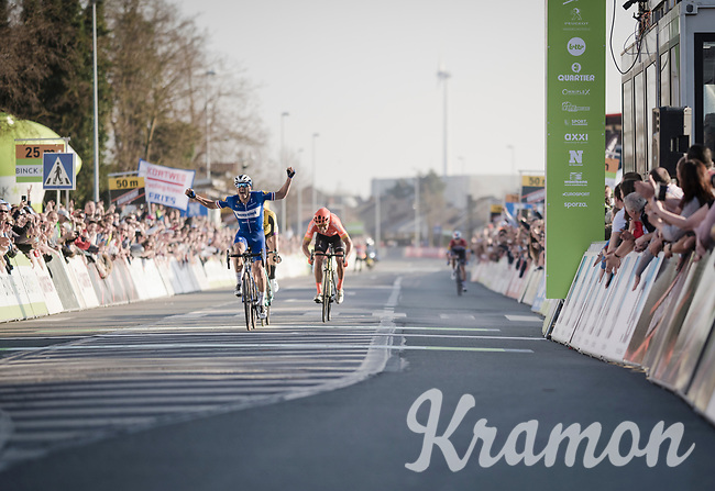 Zdenek Stybar (CZE/Deceuninck-Quick Step) wins the 62nd E3 BinckBank Classic (Harelbeke) 2019 <br /> <br /> One day race (1.UWT) from Harelbeke to Harelbeke (204km)<br /> <br /> ©kramon