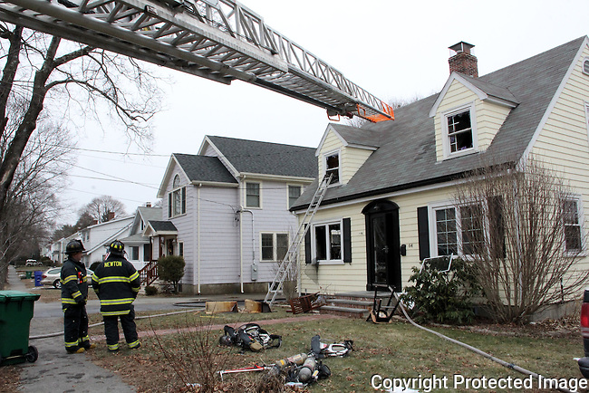 Newton, MA Firefighters at work 1/24/13 to 2/4/13