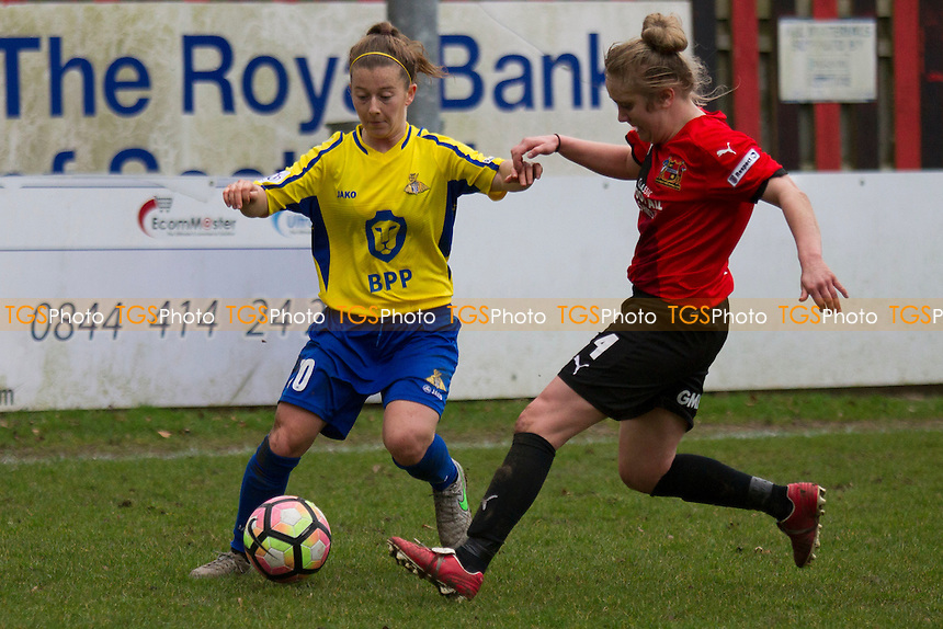 Christine Murray (Belles) during Sheffield FC Ladies vs Doncaster Rovers Belles, SSE Women's FA Cup Football at the Coach and Horses Ground on 19th February 2017