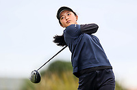Eulin Kang. New Zealand Stroke Play Championships, Paraparaumu Golf Course, Paraparaumu Beach, Kapiti Coast, Saturday 24 March 2018. Photo: Simon Watts/www.bwmedia.co.nz