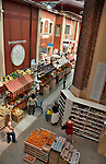 Eataly, the high end Italian food market in Turin, Italy which is where the company started and where it occupies a building that used to be a vermouth factory