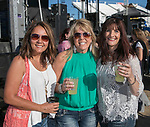 Becky Enos, Terri Hamann and Jen Gunnell during the Dustin Lynch Concert at the Reno Rodeo on Wednesday, June 14, 2017.