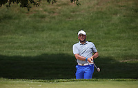 Francesco Molinari (ITA)Francesco Molinari out of the bunker on the 3rd during Round Three of the 2015 Alstom Open de France, played at Le Golf National, Saint-Quentin-En-Yvelines, Paris, France. /04/07/2015/. Picture: Golffile | David Lloyd<br /> <br /> All photos usage must carry mandatory copyright credit (© Golffile | David Lloyd)