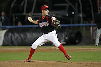 Batavia Muckdogs pitcher Keith Butler during a game vs. the Auburn Doubledays at Dwyer Stadium in Batavia, New York September 3, 2010.   Batavia defeated Auburn 8-5.  Photo By Mike Janes/Four Seam Images