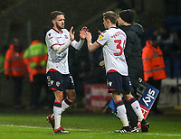 Bolton Wanderers' Joe Pritchard makes his debut as a substitute for team mate Craig Noone <br /> <br /> Photographer Andrew Kearns/CameraSport<br /> <br /> The EFL Sky Bet Championship - Bolton Wanderers v West Bromwich Albion - Monday 21st January 2019 - University of Bolton Stadium - Bolton<br /> <br /> World Copyright © 2019 CameraSport. All rights reserved. 43 Linden Ave. Countesthorpe. Leicester. England. LE8 5PG - Tel: +44 (0) 116 277 4147 - admin@camerasport.com - www.camerasport.com