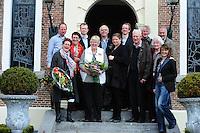 ALGEMEEN: HEERENVEEN: Gemeentehuis Crackstate, 27-04-2012, Akkie Marinus-Comello ontving een Koninklijke Onderscheiding (Lid in de Orde van Oranje Nassau), © foto Martin de Jong