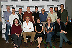 (L to R) MichaelSiberry, Jeremy Strong, Maryann Plunkett, Zach Grenier, Frank Langella, Dakin Matthews, Michael Esper, Hannah Cabell, George Morfogen, Patricai Hodges, Peter Bradbury, Triney Sandoval, Doug Hughes (Director) & Charles Borland<br />