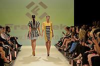 Wellington Fashion Week 2013 WFW Group Showcase -SS14 Wellington Fashion Week Show Room, Odlin's Plaza, Wellington, New Zealand on Thursday 5th April 2013.<br /> Photo by Masanori Udagawa.<br /> www.photowellington.photoshelter.com