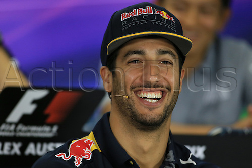 17.03.2016. Melbourne, Australia. 2016 F1 Grand Prix Australian Grand Prix Mar 17th. Melbourne Grand Prix Circuit, Albert Park, Melbourne, Australia.  Red Bull Racing - Daniel Ricciardo