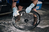 post-race bike cleaning <br /> <br /> 104th Tour de France 2017<br /> Stage 18 - Briancon › Izoard (178km)