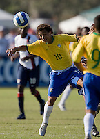 Brazil's Wellington (10). 2007 Nike Friendlies, which are taking place from Dec. 6-9 at IMG Academies in Bradenton, Fla.