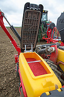 Foarge maize drill seed hopper - Vaderstad Tempo F8