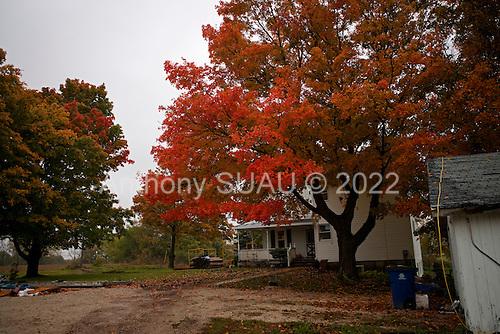 Wataga, Illinois<br /> October 13, 2014<br /> <br /> Harvesting GMO grain in central Illinois on the O'Connor farm