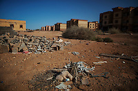 MISRATA, LIBYA &mdash; <br /> <br /> The pro-Gaddafi town of Tawurgha remains completely abandoned since Misratan forces made the residents abandon the town in retribution for having supported Gaddafi during the spring of 2011. Some residents here were executed and survivors exiled from their homes which were then torched, shot at and heavily damaged as a way to send a message.