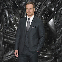 Michael Fassbender attends the World Premiere of ALIEN CONVENANT. London, UK. 04/05/2017 | usage worldwide /MediaPunch ***FOR USA ONLY***
