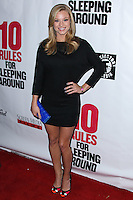 "HOLLYWOOD, LOS ANGELES, CA, USA - APRIL 01: Nikki Leigh at the Los Angeles Premiere Of Screen Media Films' ""10 Rules For Sleeping Around"" held at the Egyptian Theatre on April 1, 2014 in Hollywood, Los Angeles, California, United States. (Photo by Xavier Collin/Celebrity Monitor)"