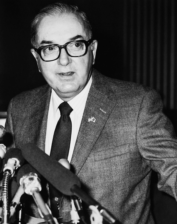 Sen. Jesse Helms, R-N.C. in 1990. (Photo by CQ Roll Call)