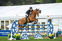 GBR-Tom Crisp. 2013 GBR-Chatsworth International Horse Trials. Sunday 12 May. Copyright Photo: Libby Law Photography