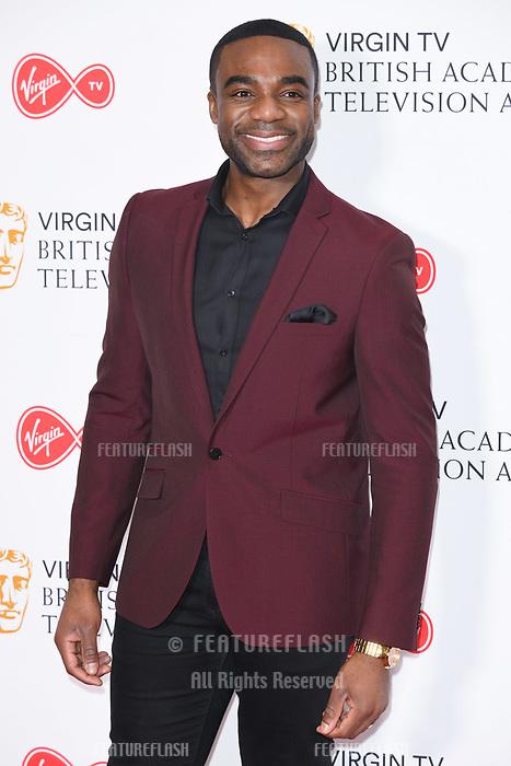 Ore Oduba at the announcement of the nominations for the BAFTA TV Awards 2018, London, UK. <br /> 04 April  2018<br /> Picture: Steve Vas/Featureflash/SilverHub 0208 004 5359 sales@silverhubmedia.com