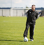 Craig Levein likes what he is seeing at training