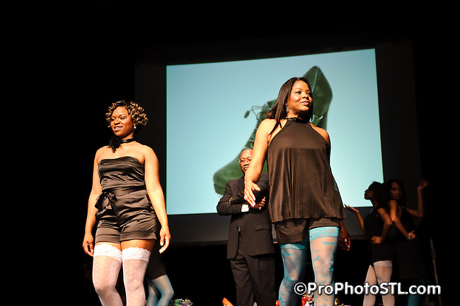 """""""Walk In Her Shoes - Designer Shoe Fashion and Trunk Show 2009"""" organized by Every Step Counts at Mildred Bastian Centre for Performing Arts Theater of Forest Park Community College, 5600 Oakland Ave, St. Louis, Missouri on Apr 11, 2009."""