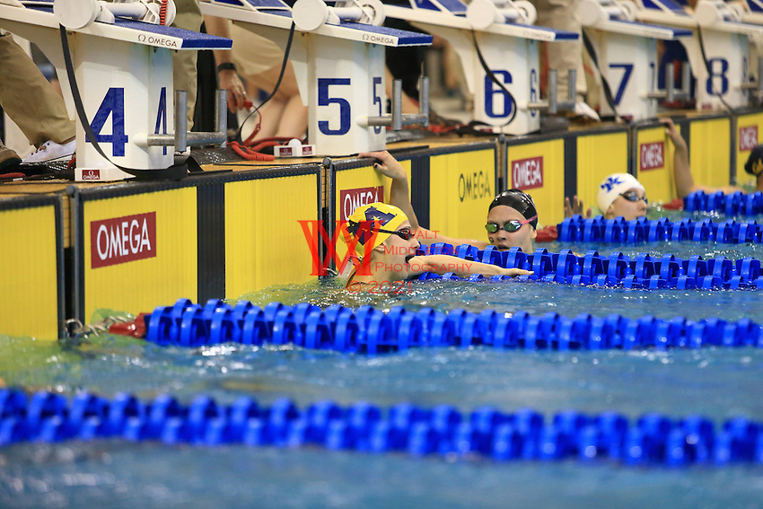 the University of Michigan women's swim and dive team compete on the third day of the 2016 NCAA National Championships at Georgia Tech University. March 16-17, 2016