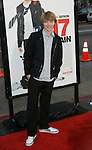 """HOLLYWOOD, CA. - April 14: Sterling Knight arrives at the premiere of Warner Bros. """"17 Again"""" held at Grauman's Chinese Theatre on April 14, 2009 in Hollywood, California."""