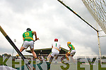 Lixnaw Keeper saves the penalty in the Senior County Hurling Final at Austin Stack Park Tralee on Sunday.