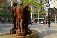 sculpture on Queen street east in downtown Toronto.....    photo by Pierre Roussel - Images Distribution
