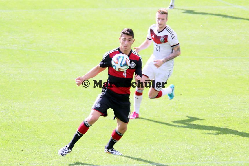 Koray Günter (u20) - Testspiel der Deutschen Nationalmannschaft gegen die U20 zur WM-Vorbereitung in St. Martin
