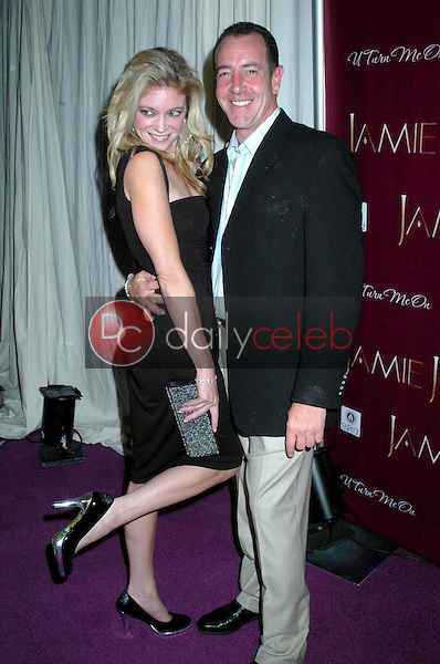 Erin Mueller and Michael Lohan<br /> at the Jamie Jo's Single Release Party. Beverly Hills Hotel, Beverly Hills, CA. 09-18-08<br />Dave Edwards/DailyCeleb.com 818-249-4998