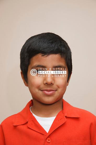 Portrait of asian boy