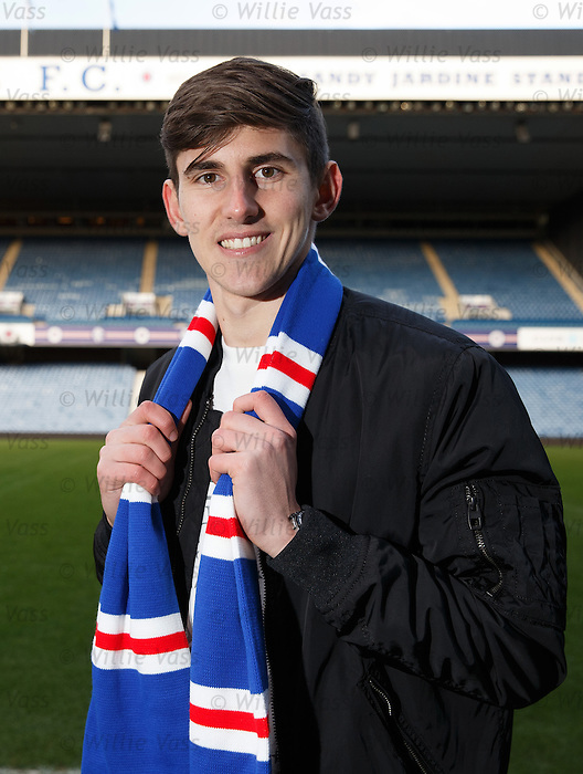 Emerson Hyndman at Ibrox