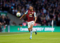 1st March 2020; Wembley Stadium, London, England; Carabao Cup Final, League Cup, Aston Villa versus Manchester City; Ahmed Elmohamady of Aston Villa - Strictly Editorial Use Only. No use with unauthorized audio, video, data, fixture lists, club/league logos or 'live' services. Online in-match use limited to 120 images, no video emulation. No use in betting, games or single club/league/player publications