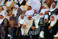 VIPs attending a national parade in Abu Dhabi